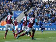 Bóng đá - Cú vuốt bóng cháy lưới Leicester đẹp nhất vòng 34 NHA