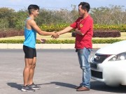 Thể thao - Song đấu: VĐV điền kinh chạy nhanh hơn xe hơi