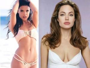 """Làm đẹp - Người mẫu 21 tuổi """"gây sốt"""" vì đẹp như Angelina Jolie"""