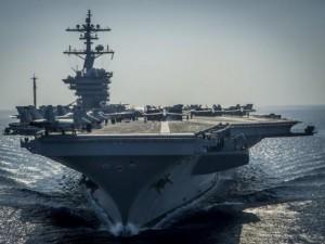 Thế giới - Ảnh: Độ hoành tráng của tàu sân bay Mỹ