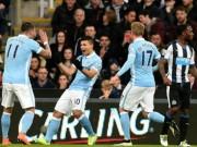 Video đầy đủ Newcastle - Man City đá bù vòng 27 NHA