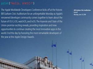 """Thời trang Hi-tech - Apple công bố thời gian diễn ra Hội nghị WWDC rất """"dí dỏm"""""""