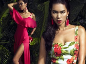 Thời trang - Hà Anh nóng bỏng trong sắc màu nhiệt đới