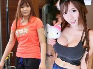 """Làm đẹp - """"Nữ thần vòng 1"""" Thái Lan khoe eo bé xíu nhờ giảm cân"""