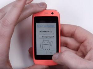 Thời trang Hi-tech - Ra mắt chiếc smartphone Android nhỏ nhất thế giới