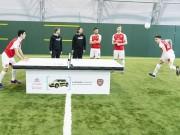 Bóng đá - Dàn SAO Arsenal so tài chơi bóng bàn bằng đầu