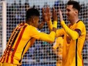 """Bóng đá - Kỳ lạ: Messi và """"2 lần"""" ăn mừng mốc 500 bàn thắng"""
