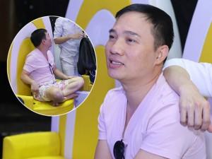 Quang Linh giản dị, xuề xòa bên Đan Trường bảnh bao