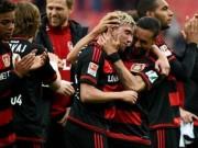 """Bóng đá - Những cú """"đại bác"""" thống trị top bàn thắng vòng 30 Bundesliga"""