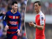 """Bóng đá - Messi vượt Ozil, là """"trùm chọc khe"""" ở châu Âu"""
