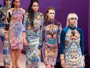 Thời trang - NTK mang tơ tằm Việt tới tuần lễ thời trang Canada