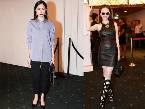 Thời trang - Angela Phương Trinh mặc đồ nửa tỷ đối lập Hạ Vi giản dị