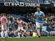 Video đầy đủ trận Man City - Stoke vòng 35 NHA
