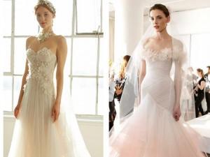 """Thời trang - Váy cưới đẹp tới mức """"phải nín thở"""" của Marchesa"""