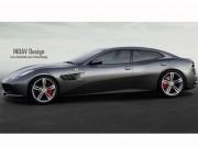 Tin tức ô tô - Ferrari sản xuất siêu xe hai cửa 4 chỗ ngồi?