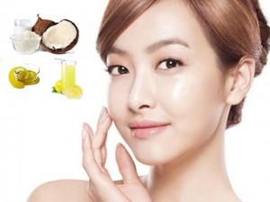 Làm đẹp - Tự làm chất rửa mặt sáng da từ dầu dừa và nước chanh