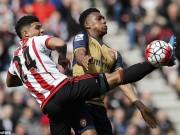 """Bóng đá - Sunderland – Arsenal: """"Bóng đêm"""" trên sân Ánh Sáng"""