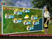 Tin tức trong ngày - Dự báo thời tiết VTV 25/4: Giông sét dồn dập ở miền Bắc