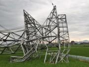 Tin tức trong ngày - Đề nghị giám định nguyên nhân đổ cột điện 500 KV