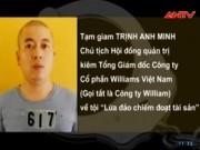 Video An ninh - Khởi tố TGĐ Williams Việt Nam lừa đảo gần 800 tỷ đồng