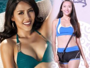 Thời trang - Nguyễn Thị Loan hé lộ cách tháo khăn khi diễn bikini