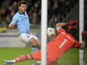 """Bóng đá - """"Sát thủ"""" Aguero: Đấu Real và hành trang 6 kỷ lục"""