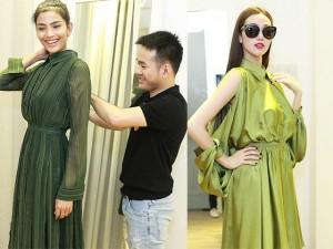 Thời trang - Khánh My xinh tươi đến thử đồ show diễn Lê Thanh Hòa