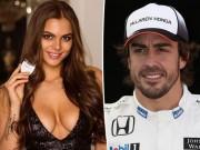 """Thể thao - """"Đốt mắt"""" với bạn gái xinh đẹp của sao đua xe F1"""