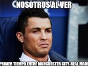 Bóng đá - Ảnh chế Man City - Real: Ronaldo mặt nhăn nhó