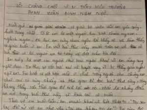 Giáo dục - du học - Trường có 3 HS bị đuổi học từng có nữ sinh viết tâm thư đòi tự tử