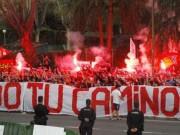 Bóng đá - Fan Atletico đốt pháo sáng, uy hiếp tinh thần Bayern