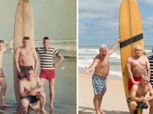 Thế giới - Mỹ: Cựu binh Việt Nam tái hiện bức ảnh cũ sau 50 năm