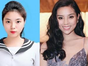 Làm đẹp - Hoa hậu Kỳ Duyên lại gây xôn xao vì cằm ngày càng nhọn