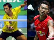 """Thể thao - Lin Dan quá mạnh, Tiến Minh """"gác vợt"""" chóng vánh"""