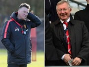 Bóng đá - MU vớt vát ở FA Cup: Van Gaal giống Sir Alex đến lạ