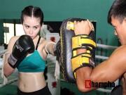 Thể thao - Nữ DJ xinh đẹp mê tập Muay Thái