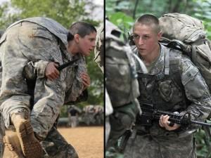 Thế giới - Lần đầu tiên quân đội Mỹ có nữ sĩ quan bộ binh