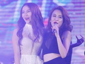 Ca nhạc - MTV - Minh Hằng - Hoàng Thùy Linh nóng bỏng trên sân khấu