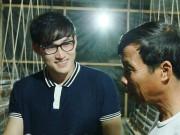 Hà Trí Quang khoe may mắn vì… quá đẹp trai