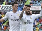 "Real: Lý do khiến Zidane  "" ghẻ lạnh ""  Isco  & amp; James"