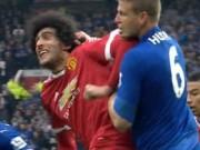 Bóng đá - Bênh Fellaini, Van Gaal gây sốc túm tóc phóng viên