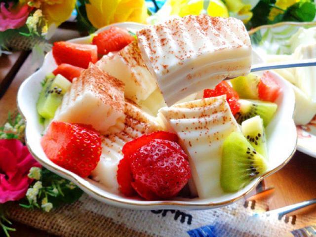 Sữa chua dẻo thơm mát cho ngày hè