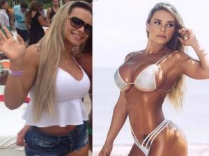 """Làm đẹp - Đường cong """"siêu tưởng"""" của mỹ nhân Brazil từng béo ú"""