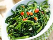 Ẩm thực - 4 mẹo xào rau không gây hại cho sức khỏe