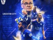 Bóng đá - Leicester City vô địch NHA: Nhà vua chân đất (Infographic)