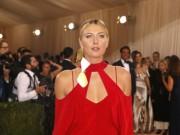 Thể thao - Sharapova rạng ngời với váy đỏ