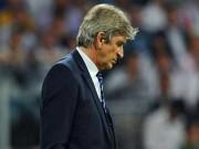 Bóng đá - Man City bị loại, Pellegrini nói Real ăn may