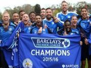 Bóng đá - Leicester vô địch: Từ vịt hóa thiên nga