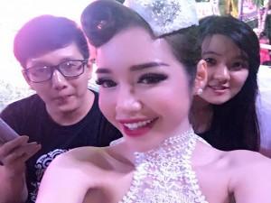 Ngôi sao điện ảnh - Facebook sao 6.5: Elly Trần mặt sưng phồng khác lạ