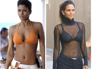 Thời trang - Nữ diễn viên 007 khoe khuôn ngực đầy đặn ở tuổi 49